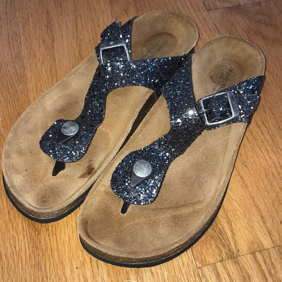 Tiza manejo muerte  Pedro Iniesta Shoes | Sparkly Birkenstock Style Sandals | Poshmark